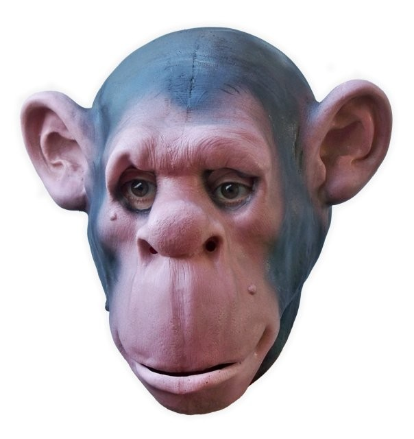 Chimpanzee Latex Mask