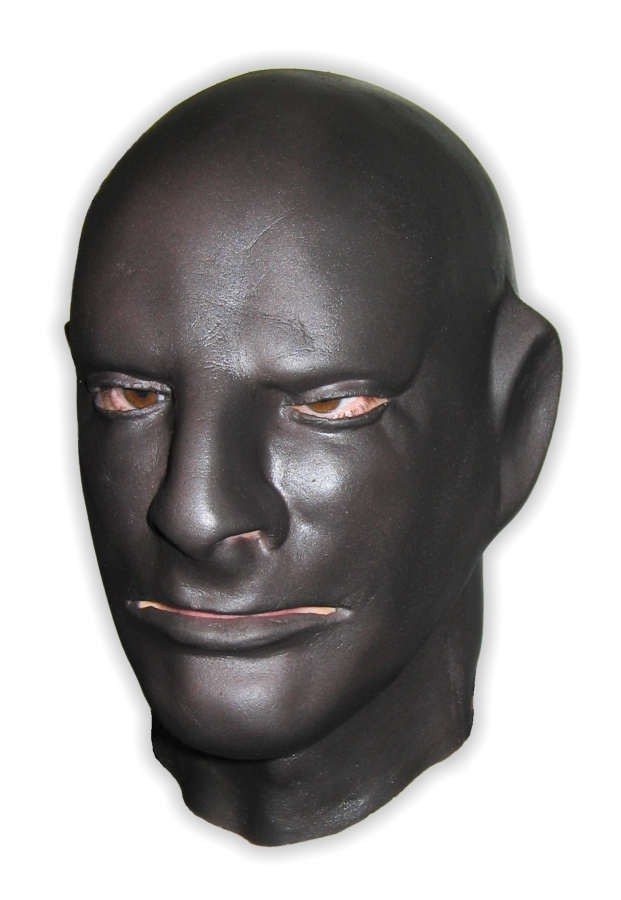Black Latex Mask Full Head