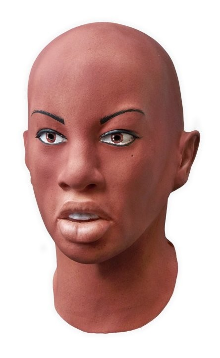 Realistic Female Latex Mask 'Layla'