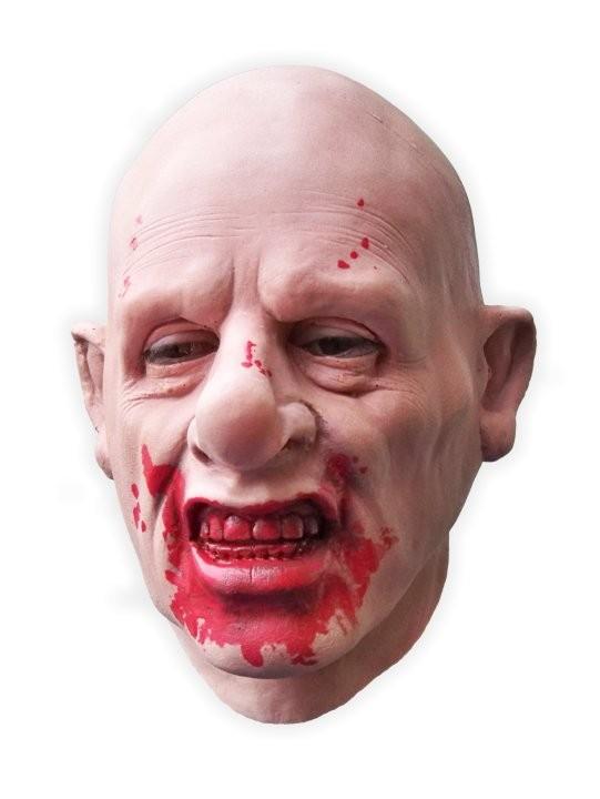 Bloodthirsty Man Realistic Latex Mask