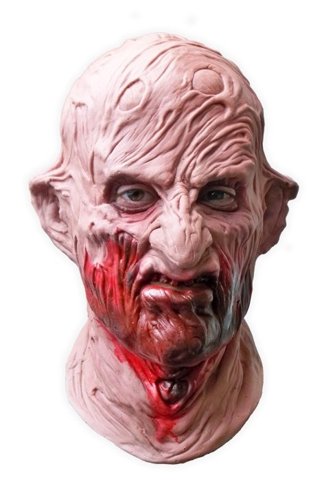 Horror Latex Face Mask 'Bloody Bastard'