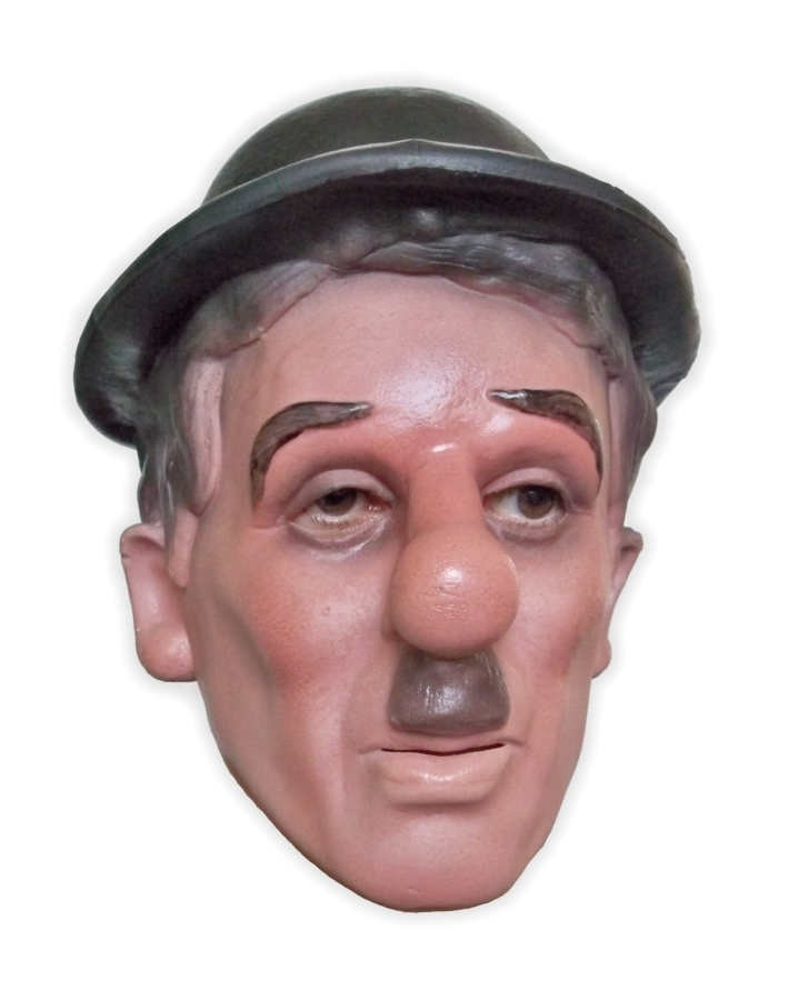 Charly Chaplin Mask Foam Latex
