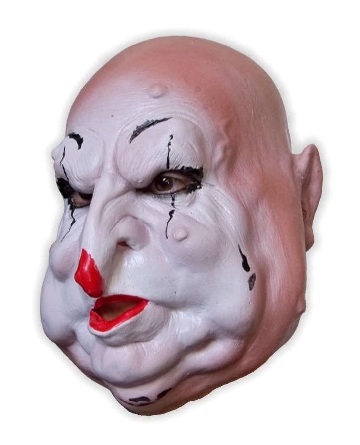 Fat Horror Clown Soft Latex Mask