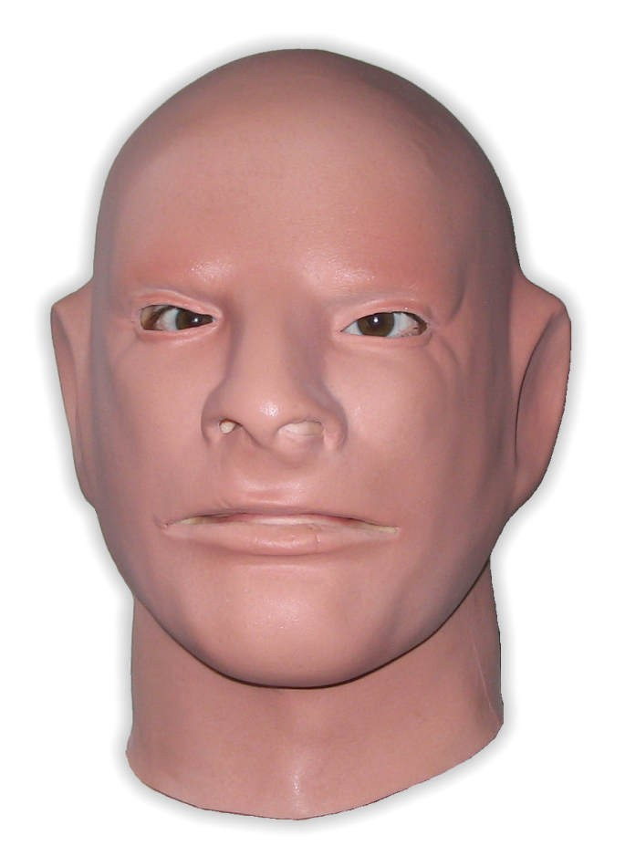 Flexible Latex Face Mask 'The Freak'
