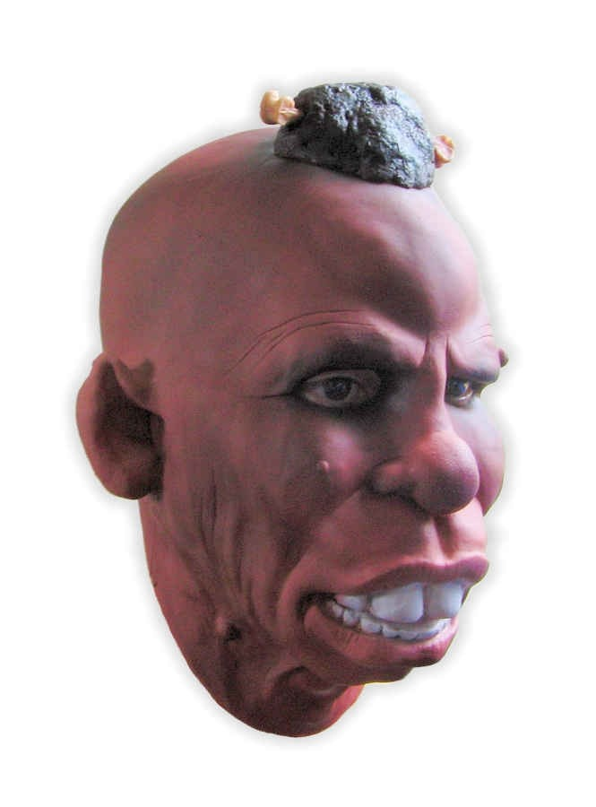 Foam Latex Mask Tribal Chieftain