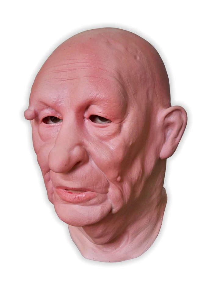 Granny Realistic Latex Mask Full Head
