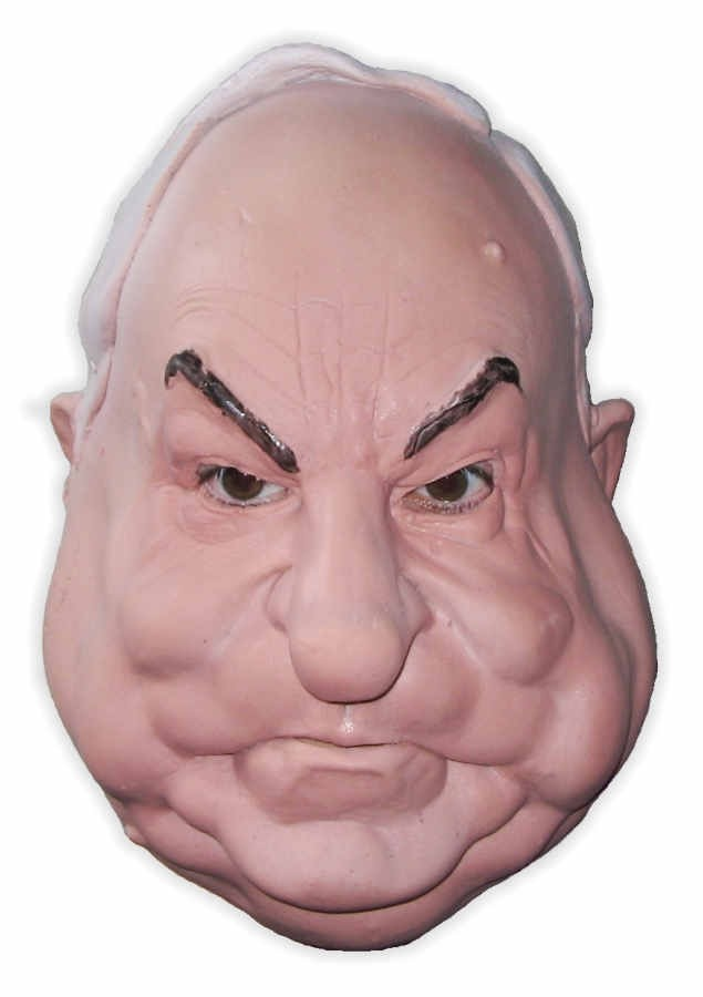 Helmut Kohl Foam Latex Mask
