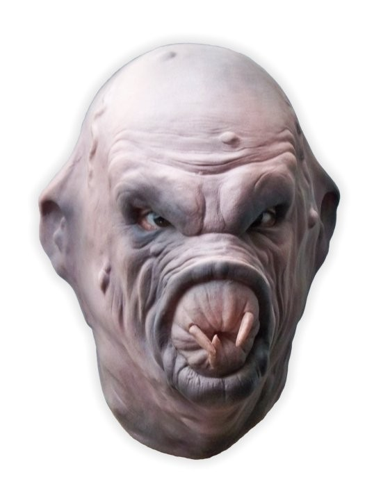 Horror Mask Latex 'The Leech'