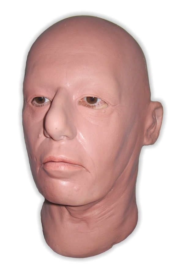 Latex Mask Realistic Woman Head 'Abigail'