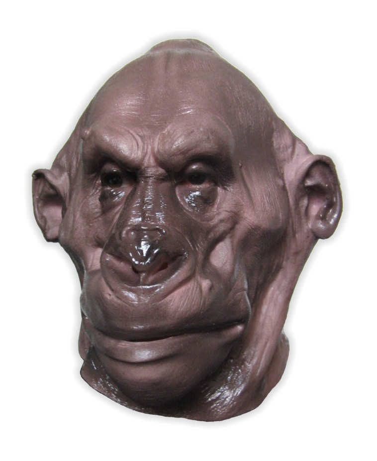 Mountain Gorilla Foam Latex Mask