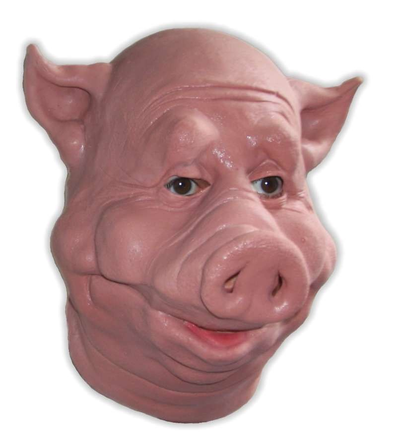 Pig Mask Foam Latex