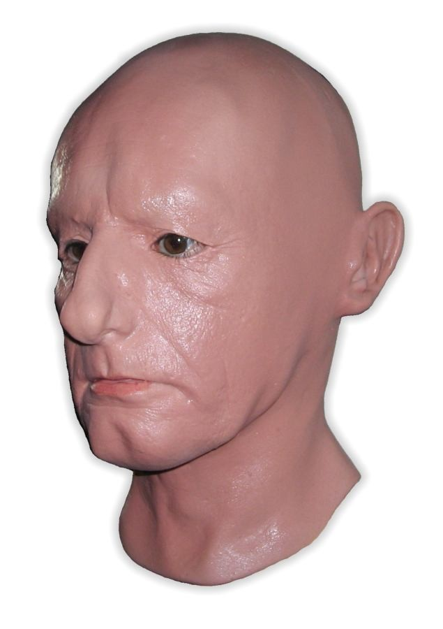 Real Face Latex Mask 'Jerry'