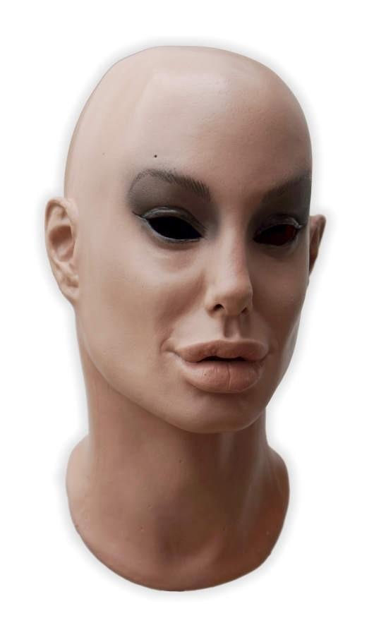 Realistic Face Mask Female 'Lilia'