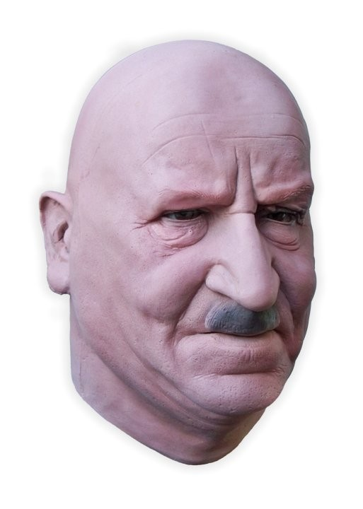 Realistic Face Mask Latex 'James'