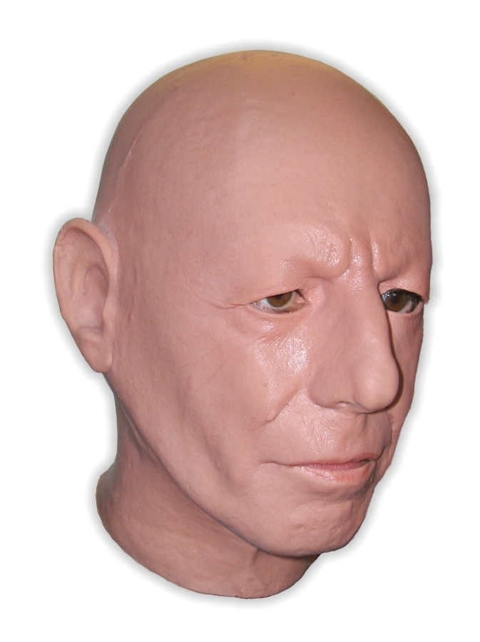 Realistic Face Mask Latex 'Kirk'