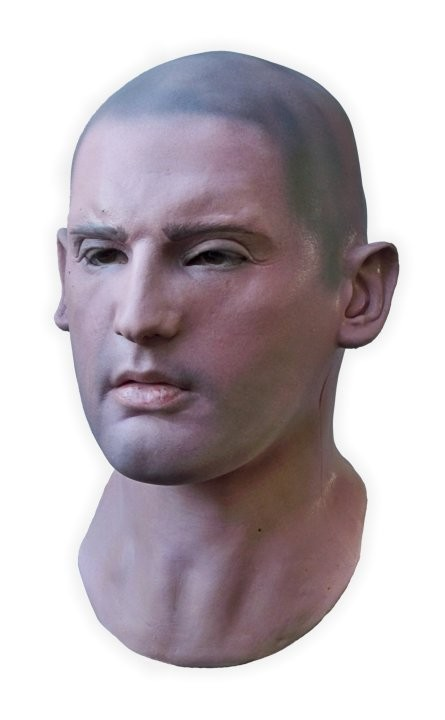 Realistic Latex Face Mask 'Riley'