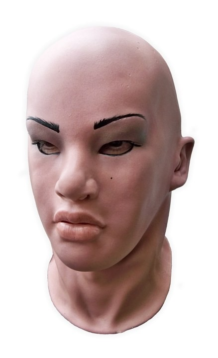 Realistic Female Mask 'Sylvie'