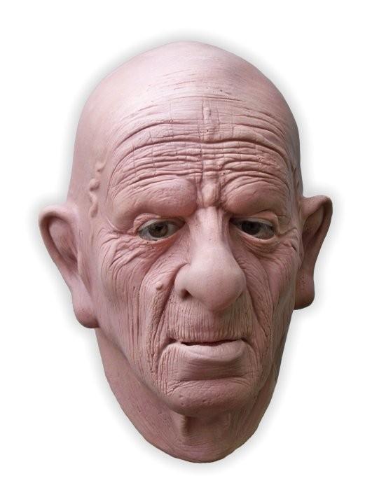 Realistic Grandpa Mask
