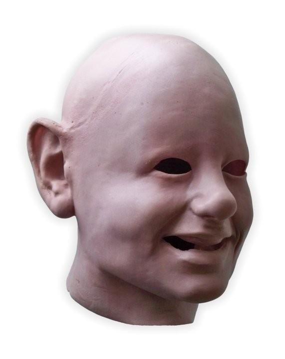 Scary Babyface Latex Mask