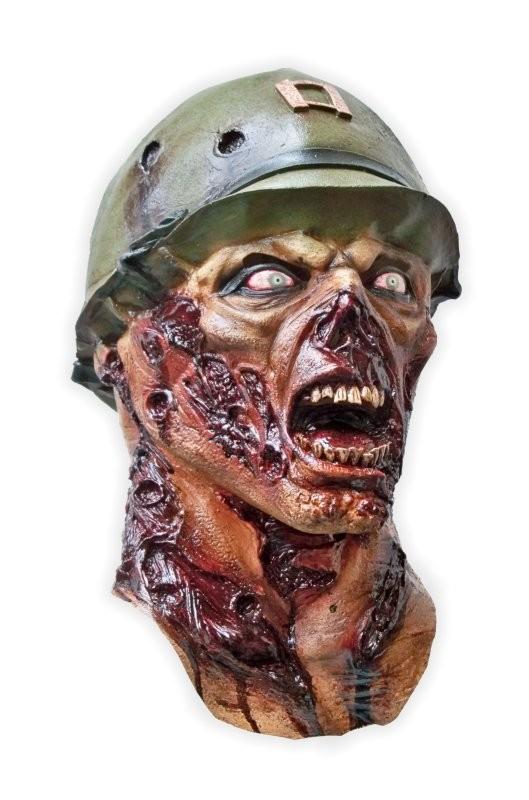 Halloween Mask 'Zombie Soldier'