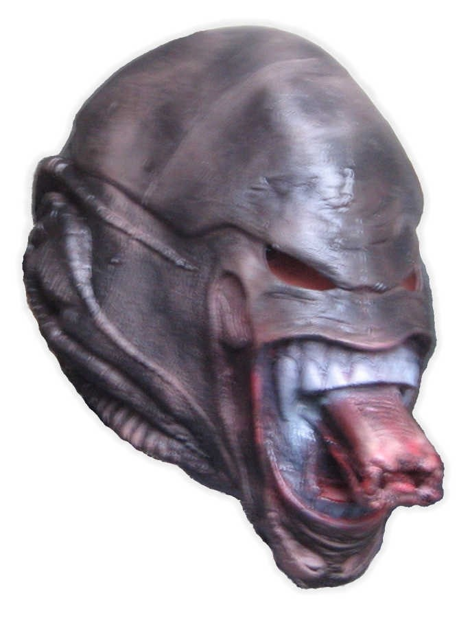 Space Monster Mask Foam Latex