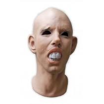 Latex Mask Human Face Skintone 'Maestro'