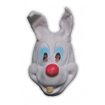 Comic Bunny Mask Soft Latex