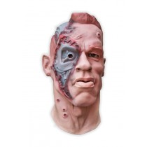 Cyborg Face Latex Mask