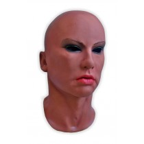 Female Mask Latex Dark Skin 'Lora'