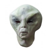 Green Alien Latex Mask