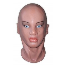 Latex Rubber Human Female Mask Full Head 'Amelie'