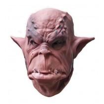 Brown Orc Latex Mask