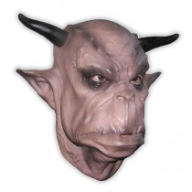 Orc with Horns Mask Foam Latex