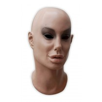 Realistic Face Mask Female 'Lilia'