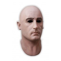 Realistic Mask Full Head Male Face 'Jean'