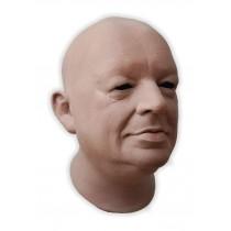 Realistic Mask Latex Male Bald Head 'James'