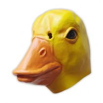 Yellow Duck Latex Mask