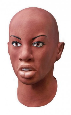 Realistic Female Latex Mask 'Layla'