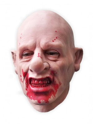 Bloodthirsty Man Realistic Latex Mask