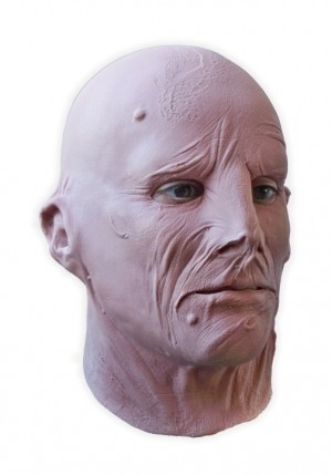 Burnt Face Realistic Latex Mask