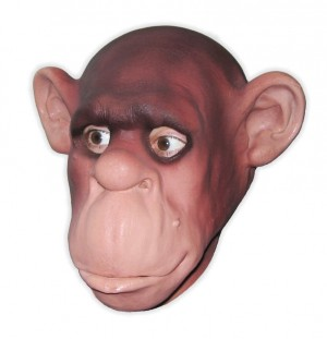 Chimp Mask Foam Latex