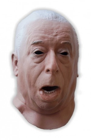 Creepy Old Man Realistic Mask Foam Latex
