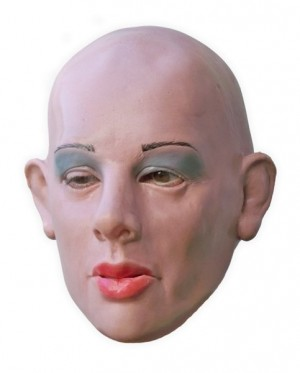 Female Latex Mask Realistic 'Mia'