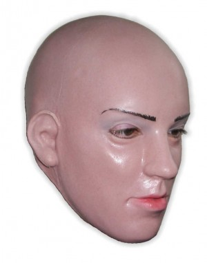 Female Face Mask Latex Ella