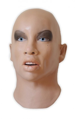Female Face Mask Soft Latex Realistic 'Laetitia'