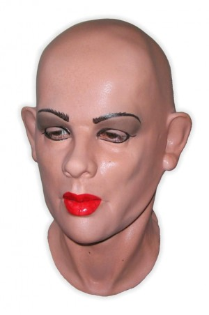 Female Latex Mask Full Head 'Julie'