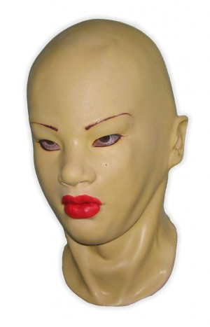 Female Mask Latex Yellow Skintone 'Amelie'