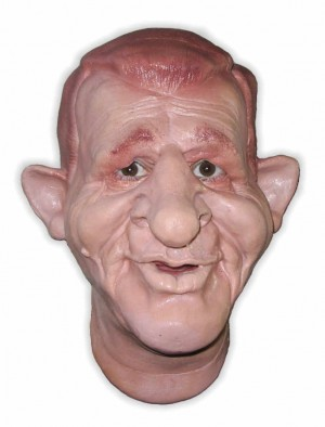Funny Latex Mask 'Diego'