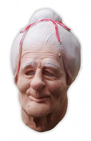 Grandma Foam Latex Mask