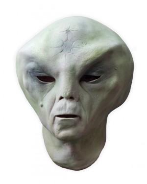 Green Alien Latex Mask